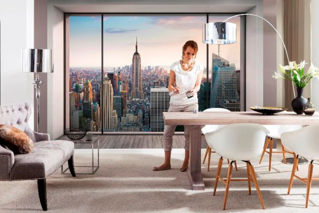 Fototapet 3d Penthouse pe Deco-perete.ro