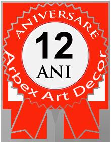 Arbex Art Decor la aniversarea a 12 ani