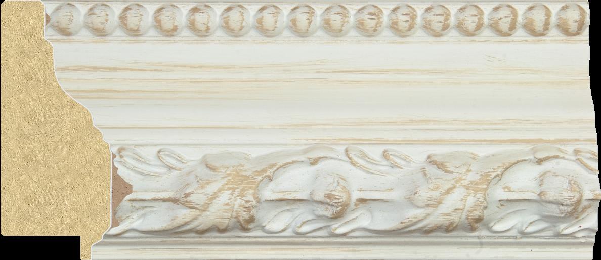 Rama de lemn pentru decoratiuni shabby chic la atelier inramari Arbex Art Decor