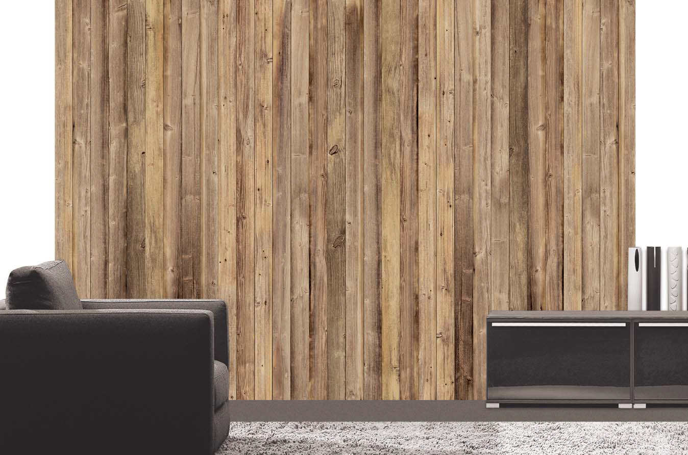 Fototapet Perete din lemn pe deco-perete.ro