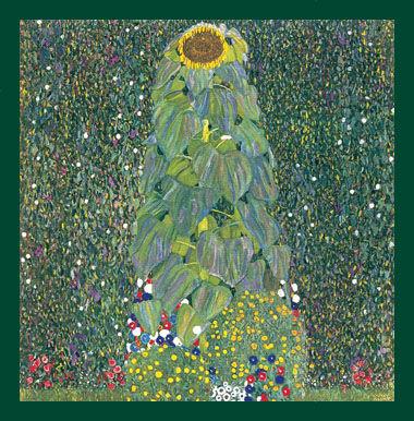 Poster floarea soarelui - Gustav Klimt si miscarea secesionista